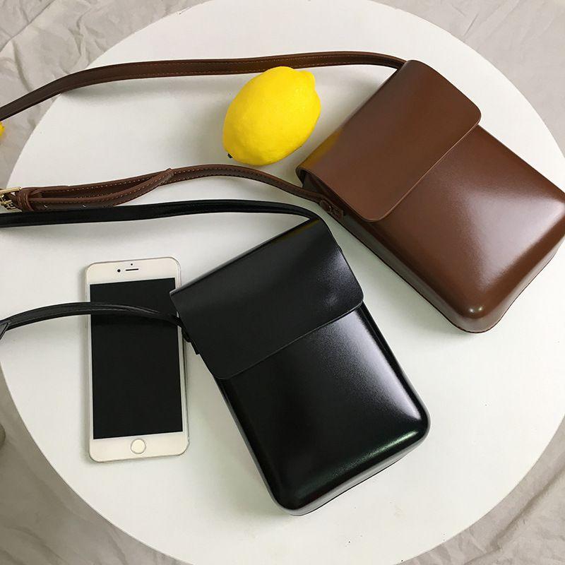 hbp Korea INS mobile phone bag female Messenger bags new tide fashion wild vertical shoulder bags small bag