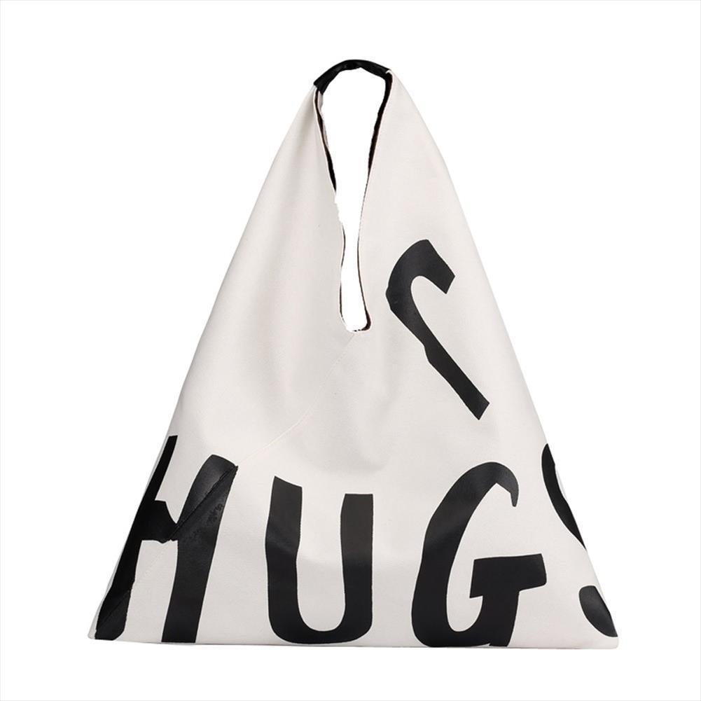 Big Bag Kadın 2020 Yeni Tuval Bayan Moda Mektupları Taşınabilir Tote Çanta Genişbant Vahşi Büyük Kapasiteli Çanta Zer
