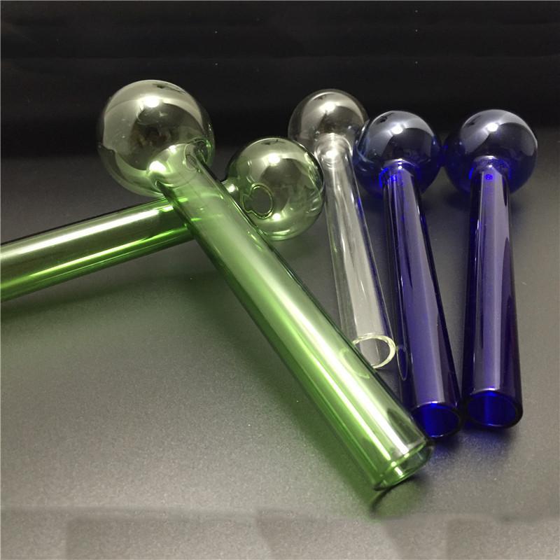 Оптовая цена цена стекла нефтяной горелки трубы Bong Цвета курительные ручные трубы 8 дюймов 50 мм Bubbler стеклянная водяная труба бонг
