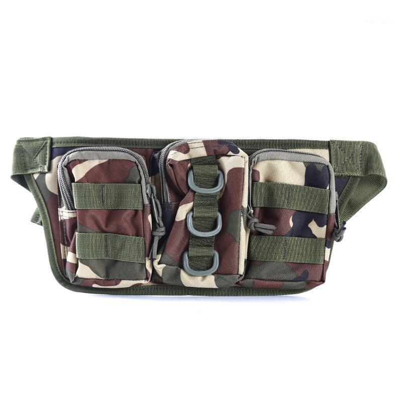 Открытый кемпинг для лазания для лазания камуфляж тактический бедро талии пояса чехол кошелек спортивные охотничьи камуфляжные сумки в backpack1