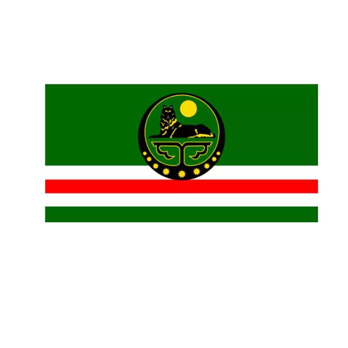 Tschetscheniens State Flag 3x5 FT Werbe Flagge Festival-Party-Geschenk 100D Polyester Indoor Outdoor Printed Heißer Verkauf