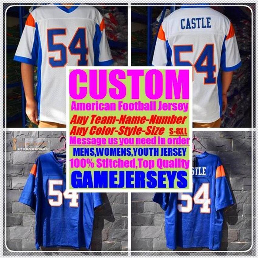 Custom Baseball Hóquei Basquete Americano Futebol Jerseys para Mens Womens Juventude Crianças Cor Esportes Novo Futebol Jersey Pewter 4xL 5XL 6XL