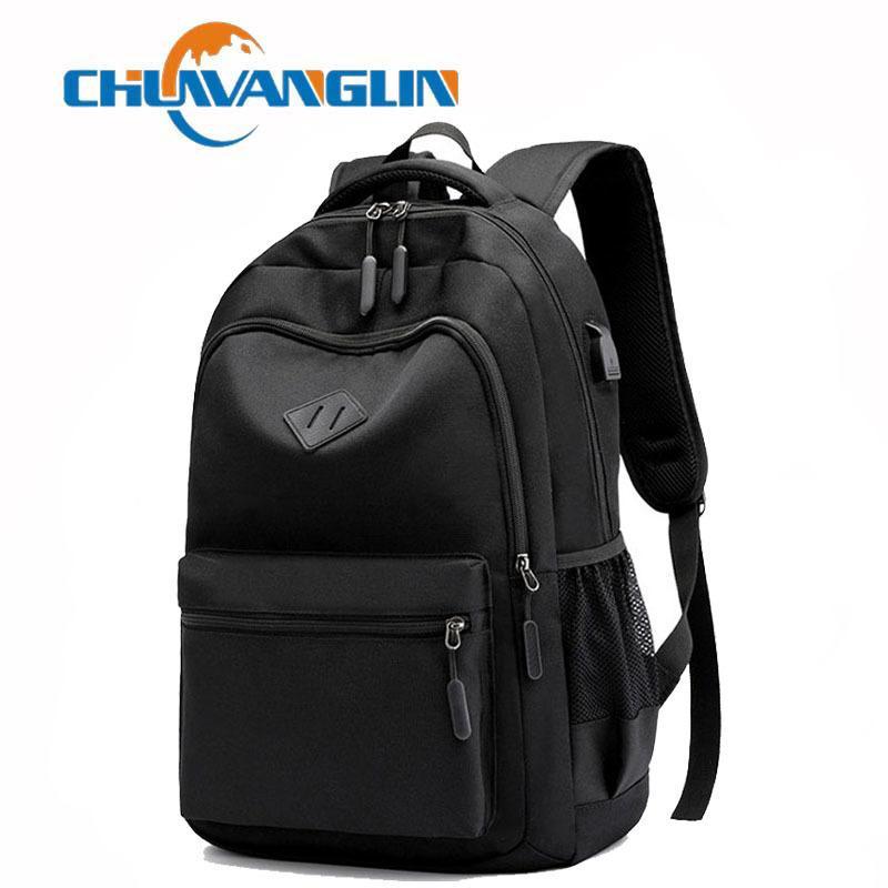 Chuwanglin Rahat Unisex Sırt Çantaları Mochila Feminina Erkek Laptop Sırt Çantası Şarj Sırt Çantası Erkek Ve Kadın Okul Çantaları A6219 201119
