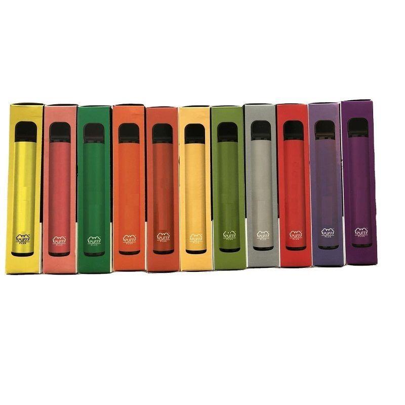 Barra Puff Bar Plus 88 Cores Dispositivo de Vape Descartável 550mAh Bateria 3.2ml Pré-preenchido Vape Portátil Puff XXL Duplo Bang XXL Switch Duo