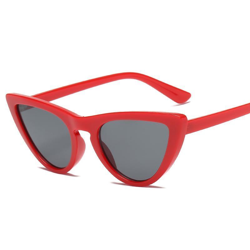 Lunettes de soleil Kujuny Retro Cat Eye pour hommes Catsye Style Sun Slasses Sun Slasses Medies Eyewear UV400 Lunettes