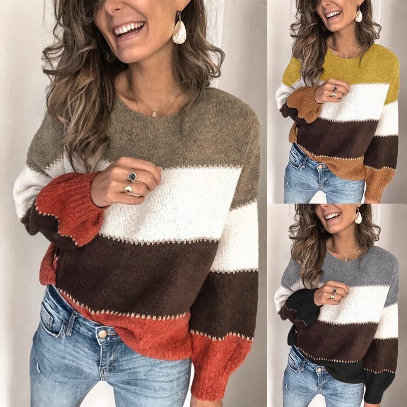 Neue Herbst-Winter-Mohair Leopard Pullover Frauen Pullover Plus Size Frauen Pullover Qualitäts Strick Maxi-Strickjacke-Jumper