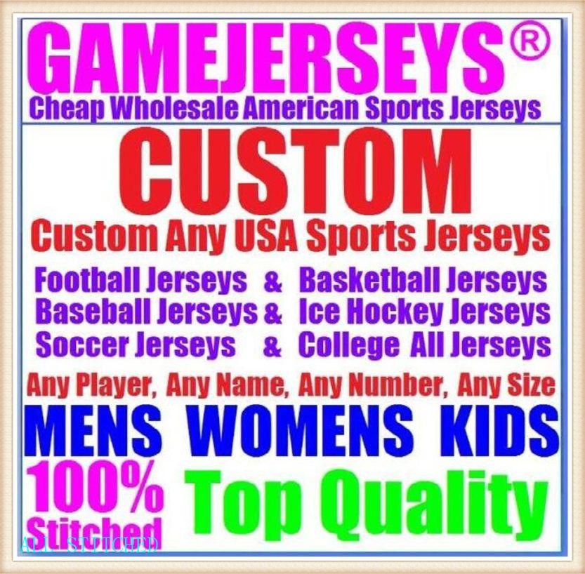 Пользовательские мужские женские молодежные американские футбольные трикотажные изделия спортивные бейсбольные хоккей хоккей баскетбол Униформа официальный 2021 Jersey Store 4XL 5XL 6XL