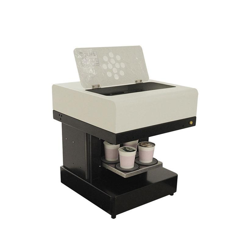Easy operation with tablet PC latte coffee 3d printer