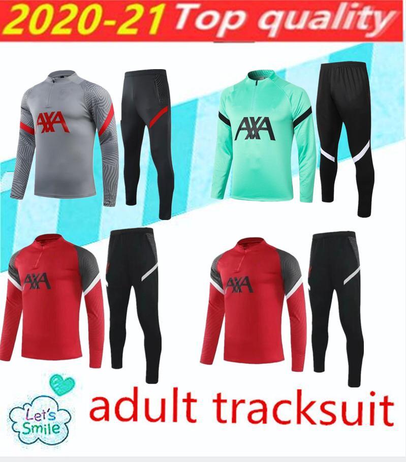 2020/21 Traje de entrenamiento para adultos, traje de jogging chandal, traje de la chaqueta adulta, traje de chaqueta de kane