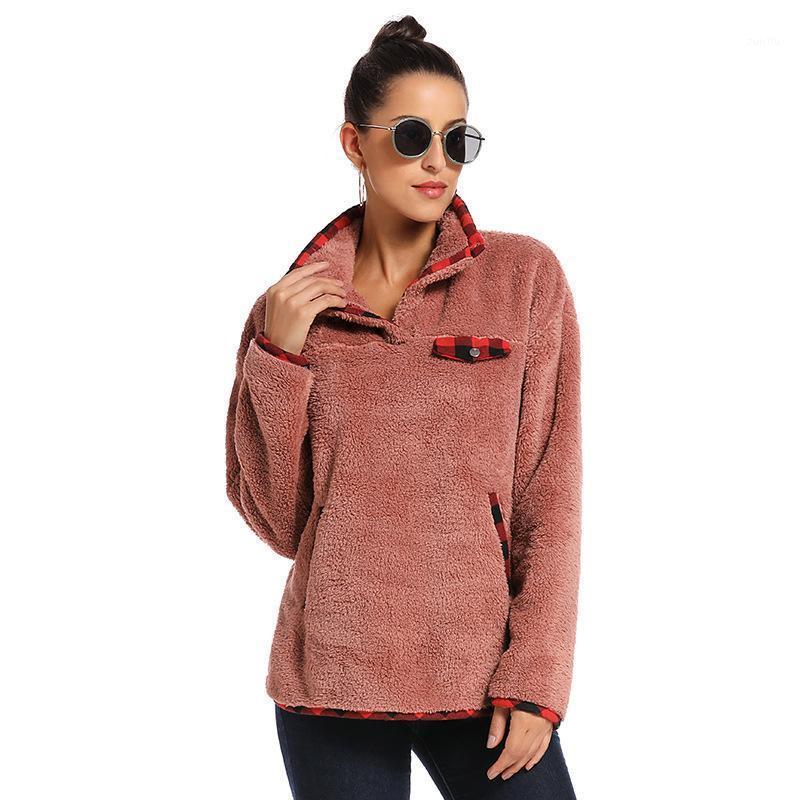 Langarm Sweatshirts Fleece Kleidung Harajuku Pullover Mantel Herbst Winter Frau Hoodies1