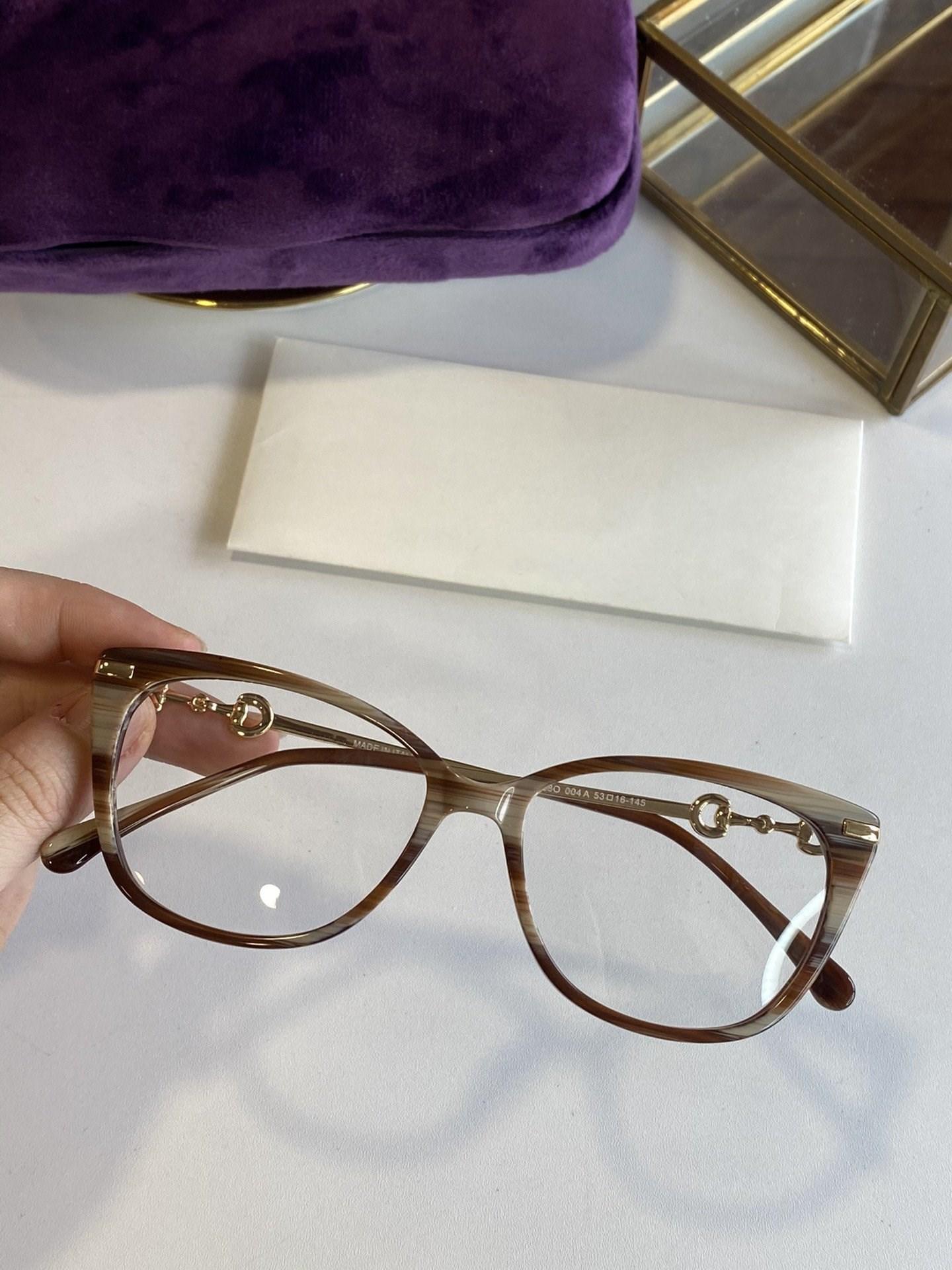 qualidade óculos combinando moda gradiente das mulheres nova alta, luz requintado moda de luxo de moda de óculos quadro full frame glasses 0758