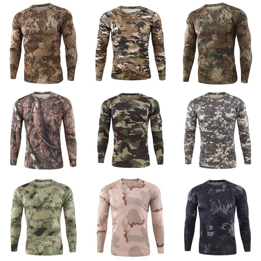 Bandana T-shirts pour hommes imprimé cachemire à manches longues T-shirts de marque T-shirts Chemise de qualité supérieure coton vêtements en gros # 874