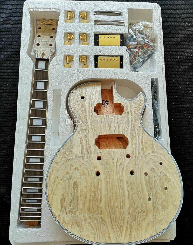 Unfinished 1 Set day scollo a chitarra non finito per chitarra e corpo per kit per chitarra in stile LP