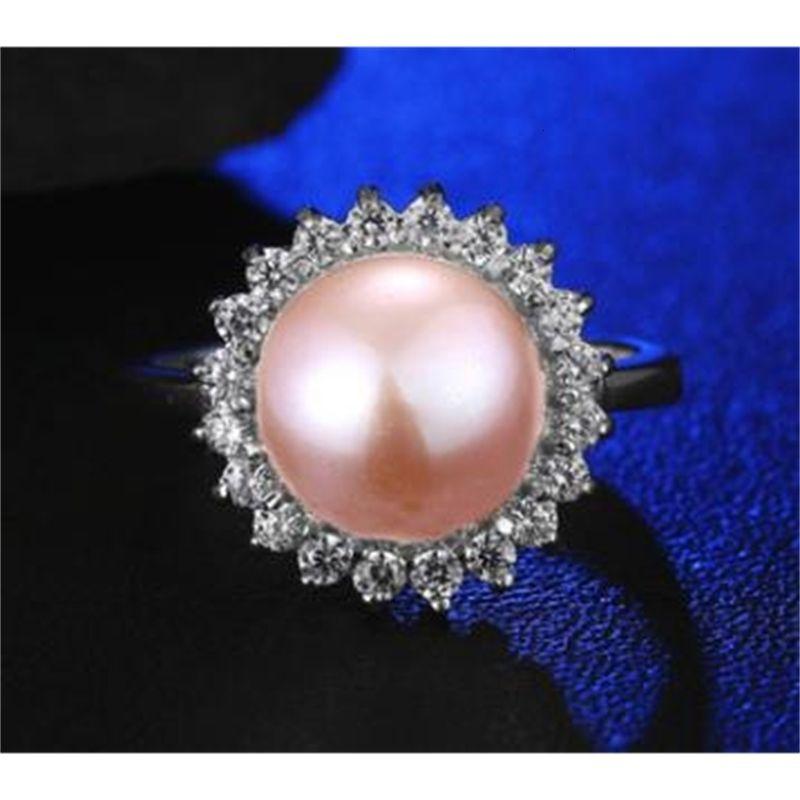 İnci moda doğal yüksek dereceli elmas toptan yüzük