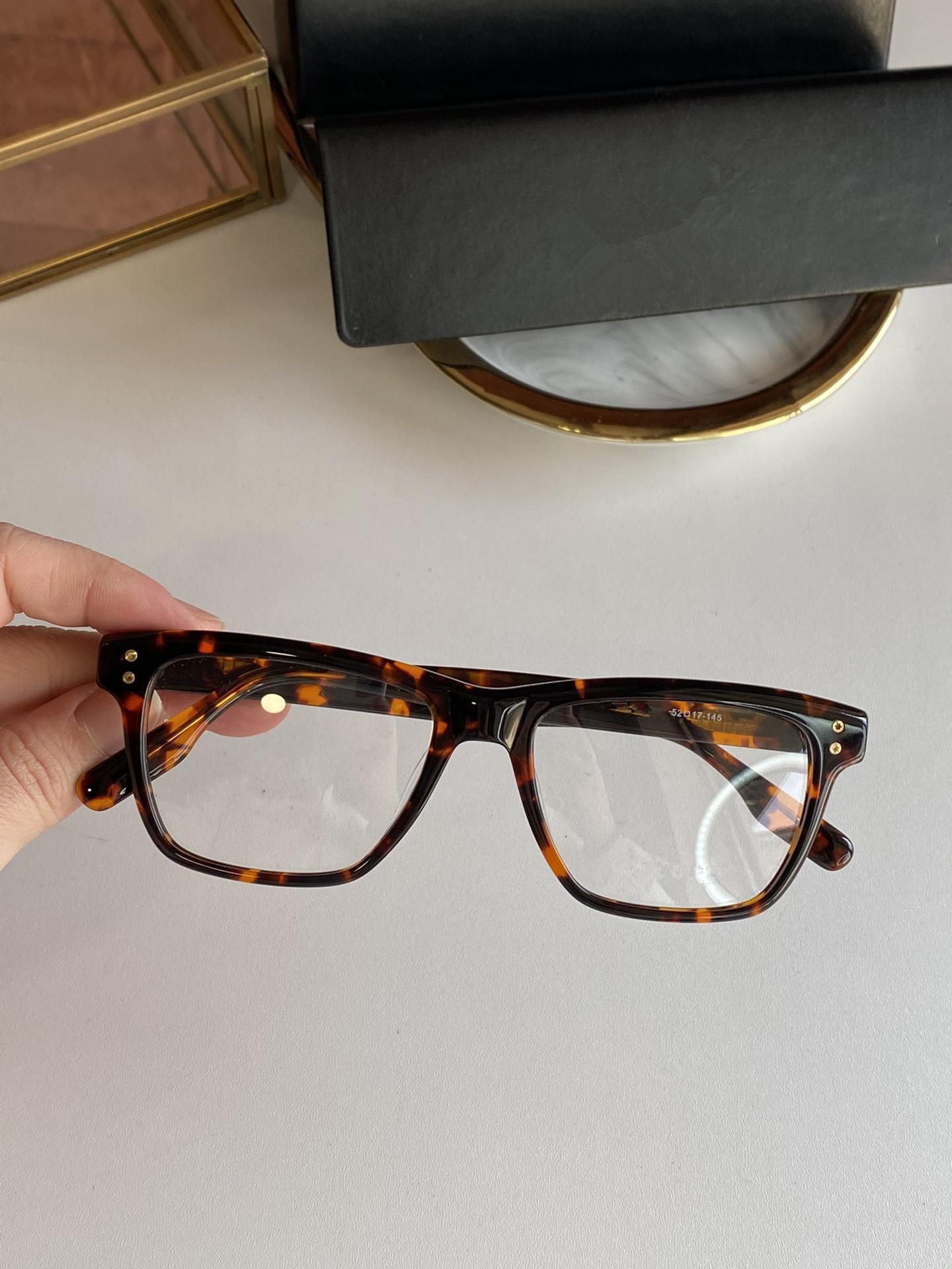 2021 الخريف / الشتاء نظارات جديدة 0125 الكلاسيكية نمط الأزياء مزاجه ذكر / أنثى النظارات الحجم 52-17-145