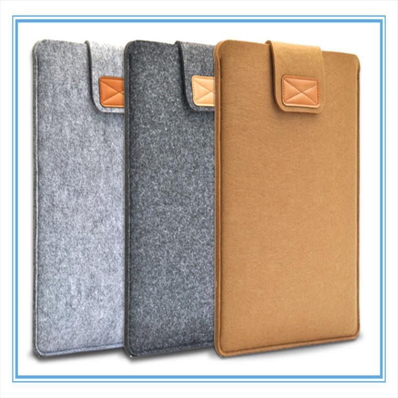 Men New Document Laptop Bag Felt Soft New Cover Case Noble Computer Briefcase 2019 Business Jdhgo