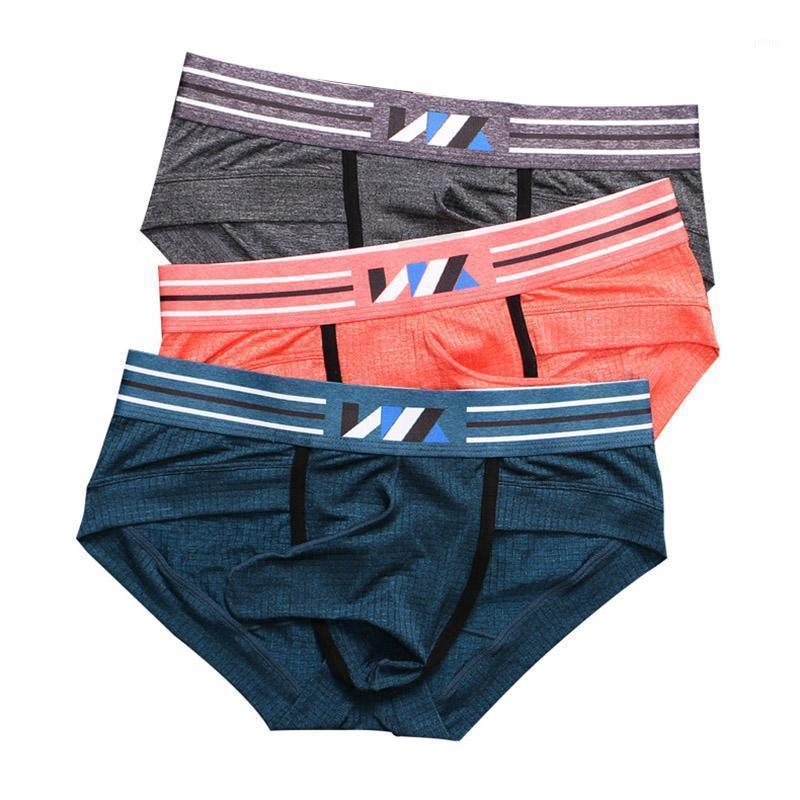 4 pçs / lotes Mens Underwear Lingerie Elefante Penis Bolsa Becos Ropa Interior Homebre Ice Silk Thongs Cueca Gay Calcinha Plus Size1