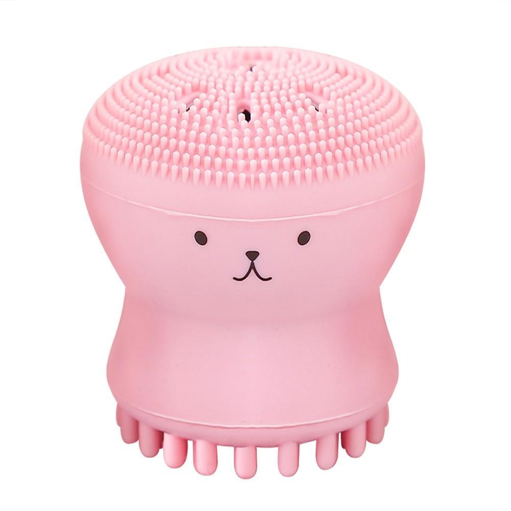 Soft Silicon Face Pinceau Facial Brosse Facial Soft Facial Facial Pore Nettoyage Brosse Baby Douche Éponge