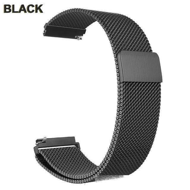 mart Zubehör Metall Fitbit Versa-Band für Fitbit Versa Strap Magnetic fit Bit Lite Verse 2 Armband Edelstahl-Uhrenarmband-Zugang ...
