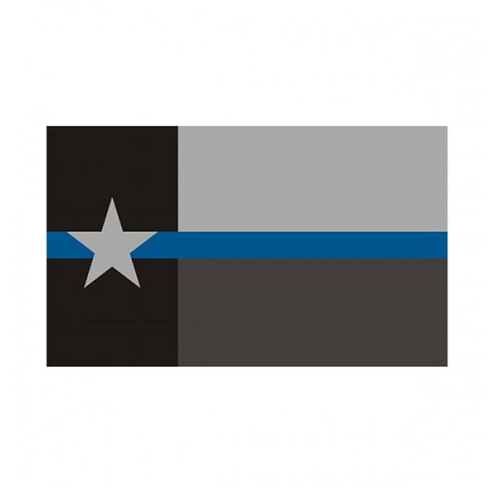 Texas State Flag Thin Blue Line Flag 3x5 FT Polizei Banner 90x150cm Festival Geschenk 100D Polyester Indoor Outdoor Printed Flagge