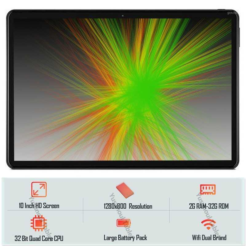 """2020 New Original 10 inch Tablet PC Quad Core 32GB ROM 1280*800 IPS 2.5D Tempered Glass Screen 5.0MP GPS WiFi 10"""" Tablet pc1"""