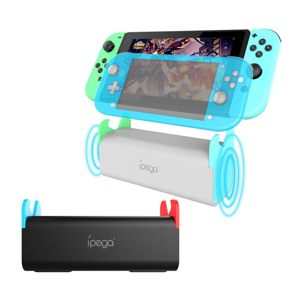 Portable del sostenedor del clip de audio del altavoz del juego Tipo C del muelle del soporte para el interruptor serie de juegos NS Lite consola de juegos / Tablet PC / PC / Móvil