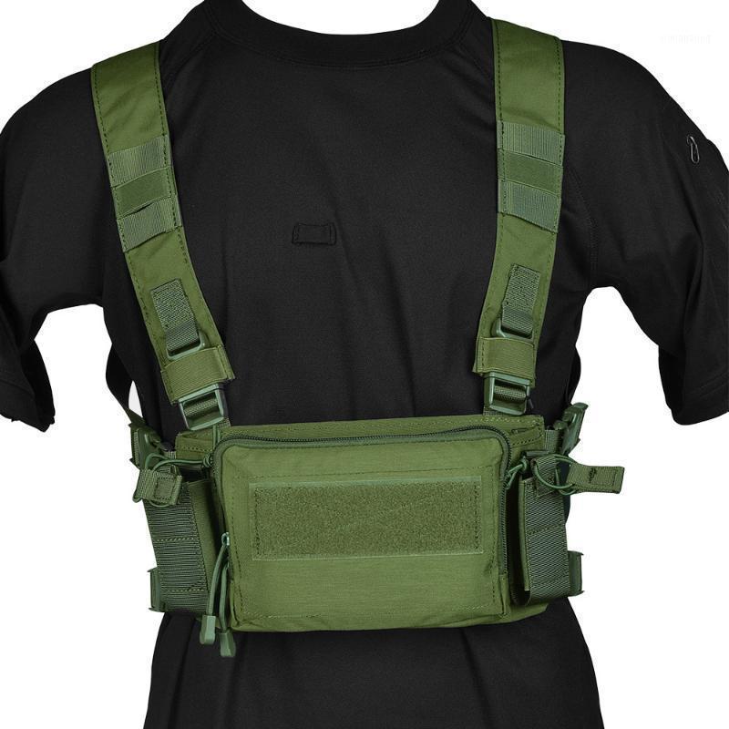 MINI D3 Gilet tactique de la poitrine Crm H Harness M4 Magzine Insérer intégrable Détache rapide Hommes Paintball Accessoires1