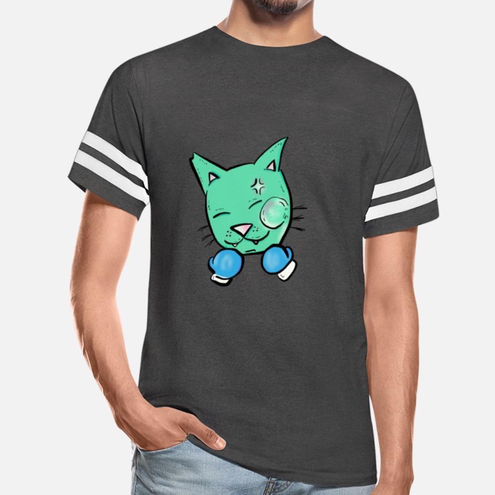 Boxenkatze T-shirt Top Black Casual Trainingsanzug Hoodie Sweatshirt
