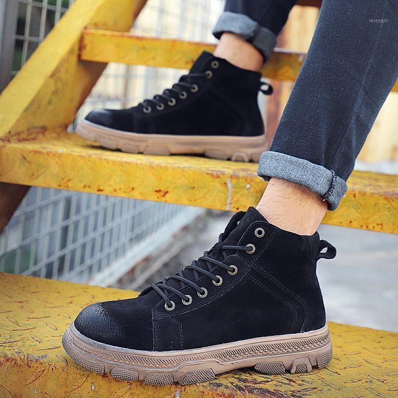 Случайные мужские плоские мужские мокасины мужские кроссовки для отдыха Мужская черная кожа для кроссовки модные кроссовки Горячие мужчины Обувь спортивные причина1