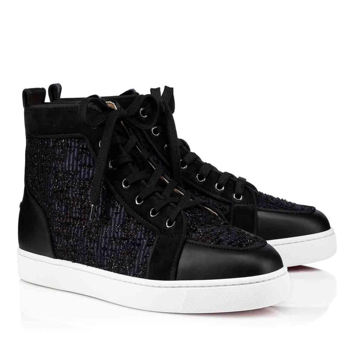 جديد عالية أعلى أحذية رياضية أحمر أسفل الشقق أحذية رجالية جونيور p ستراس أورلو رنط حذاء رياضة شقة مع الأزرق الجاكار، مصممي الفم الروسي