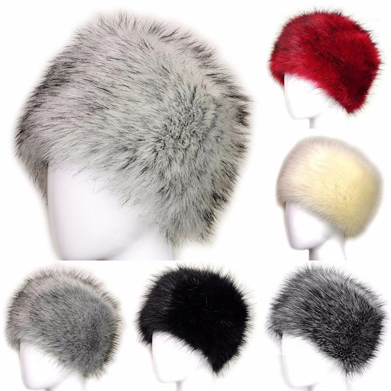Primavera inverno moda donna cappelli da donna signora lanugine tappo morbido caldo fottuto pelliccia berretti orecchio proteggere carino cappello casual cappello copricapo copricapo1