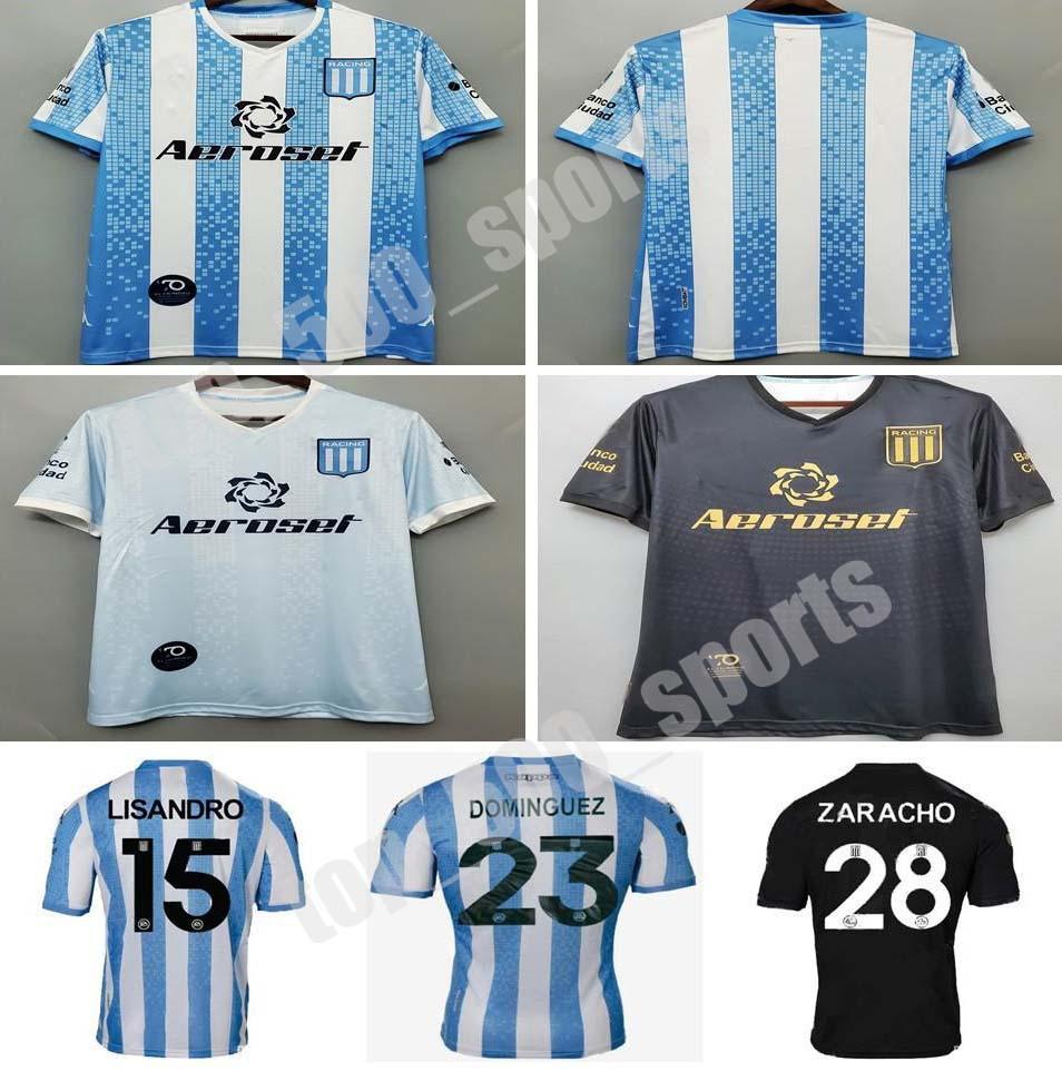2020 레이싱 클럽 드 Avellaneda 홈 축구 유니폼 20 21 Away Bou Fernandez Centurion 축구 셔츠 Lisandro 3 축구 유니폼