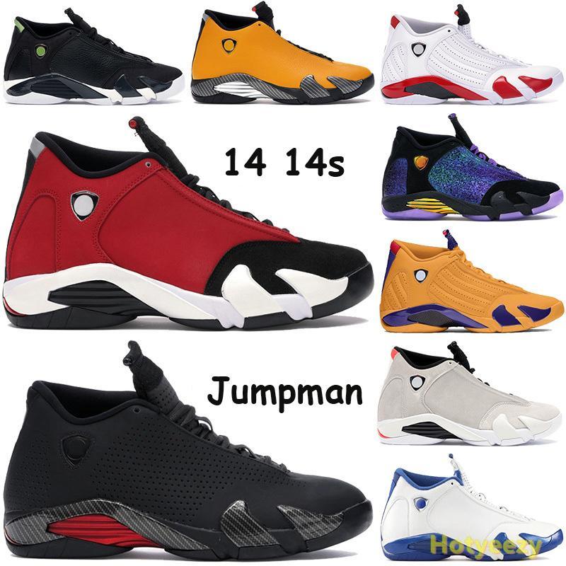 الجديدة 14 14S أحذية كرة السلة Jumpman Doernbecher الأسود المدربين متعددة الألوان تتحدى الجرافيت الأحمر 2005 الطلقة الأخيرة حلوى قصب احذية الولايات المتحدة 7-13