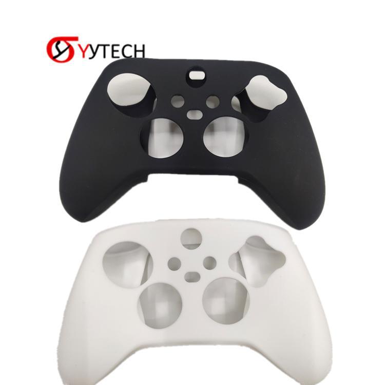 Syytech لون واحد التمويه الحالات سيليكون يغطي الجلد ل xbox series x gamed تحكم الملحقات