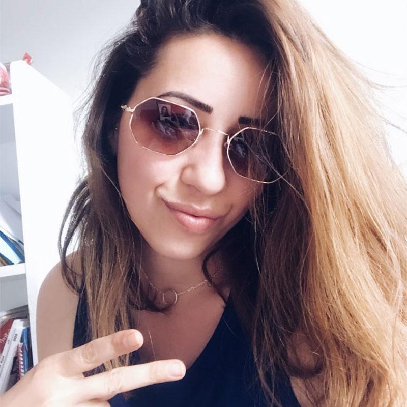 Квадратные Солнцезащитные очки Женщины Дизайнер 2020 Высокое Качество Девушки Модные оттенки UV400 Небольшие Солнцезащитные Очки Gafas de Sol Cuadradas 2020 Caagf