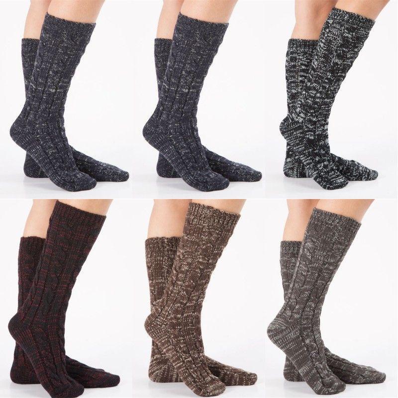 женщина трикотажной ноги носок леди девушка ноги осень зима сохранить теплые носки ботинок крышки женщин Хэллоуина Рождество пята носков BWA1836