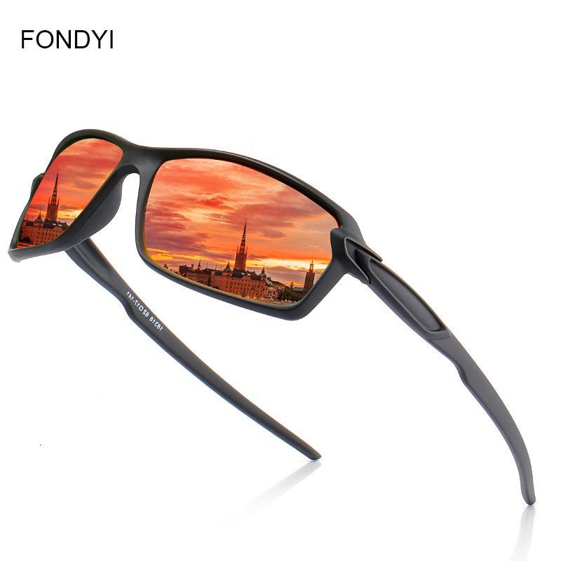 Pesca Fondyi Dropshipping hombre de alta calidad gafas de sol polarizadas Mujeres Moda Uv400 Anteojos Sombras de protección con el caso