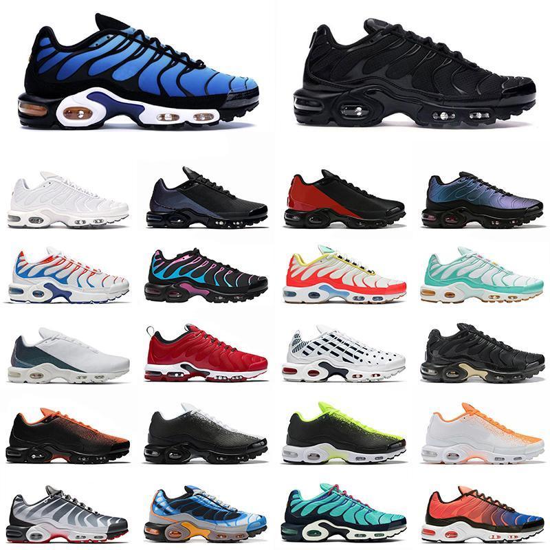 2020 tn se Herren Frauen Schuhe Trainer Triple Black White Hyper Royal Blue Oreo Pinselstrich Camo Männer Outdoor Sports Turnschuhe
