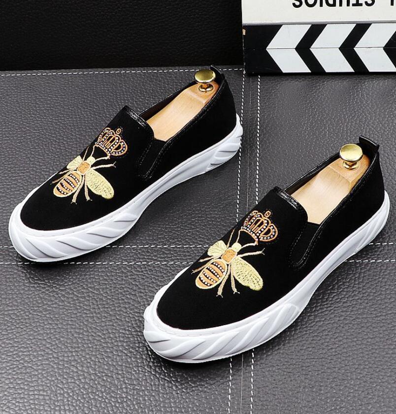 Outono e inverno homens mocassins homens sapatos casuais moda macho laço sapatos para homens genuínos couro liso couro sapatos para homens 38-43