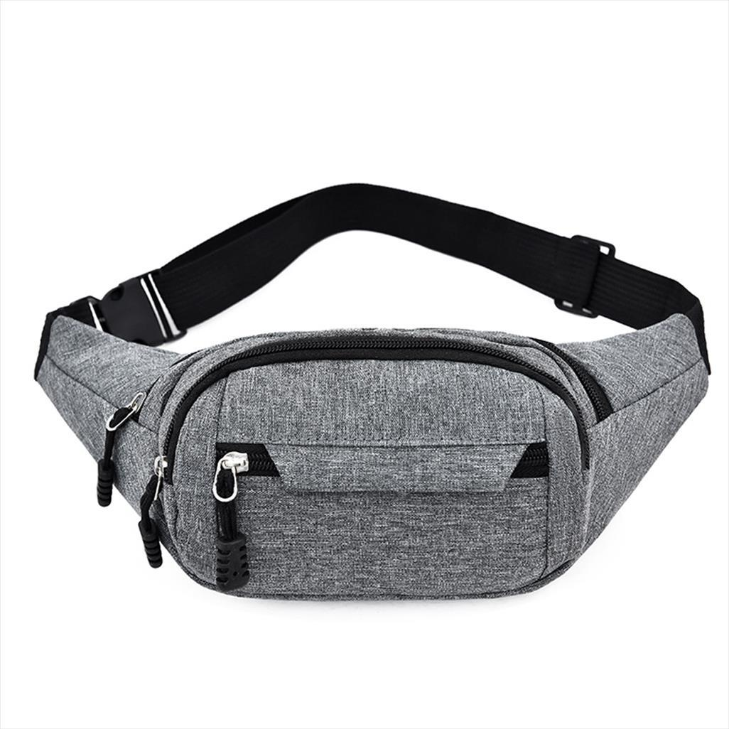 Mujer hombres cinturón cadera bolsa cintura teléfono bolsa fanny colorido moda nylon bum bolsillo bolso bolso pecho viaje paquete dloee