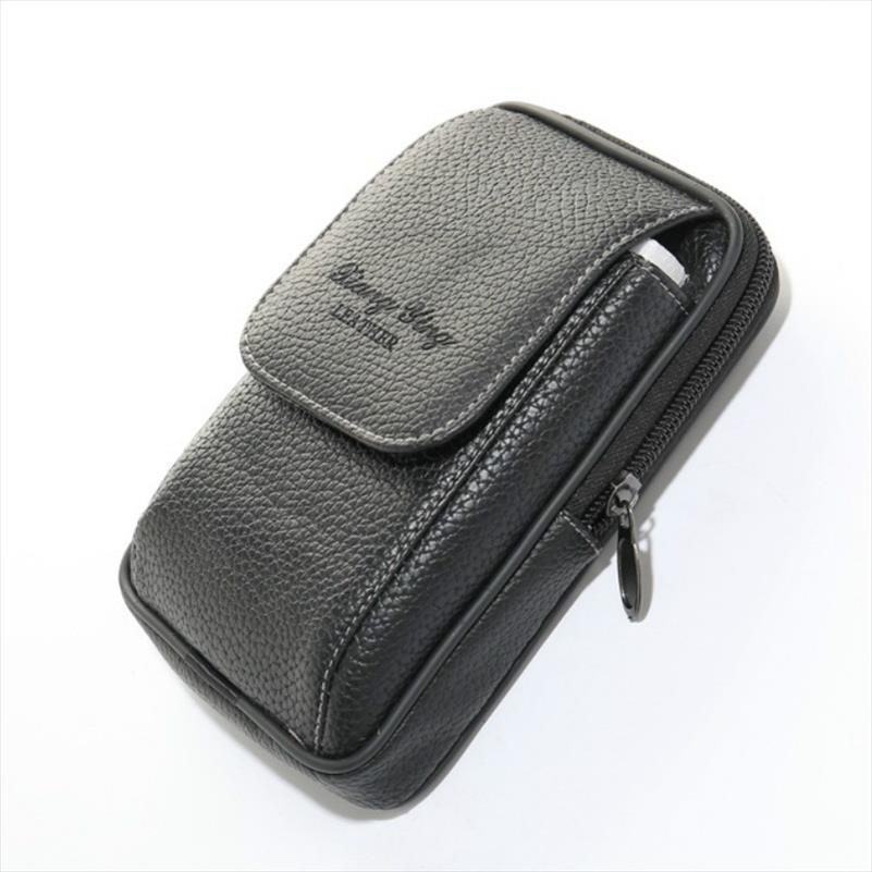 BISI pu deri bel çantası telefon jeton kartı bel çantası Çok açık bel çantası kadın ve erkek kemer çanta bel işlev
