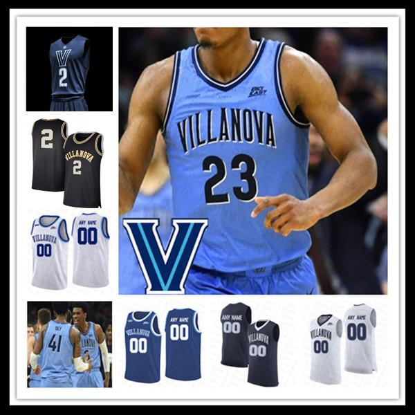 2021 대학 농구 Villanova Wildcats Jersey Collin Gillespie Jeremiah Robinson-Earl Justin Moore Jermaine Samuels Lowry Swider Custom