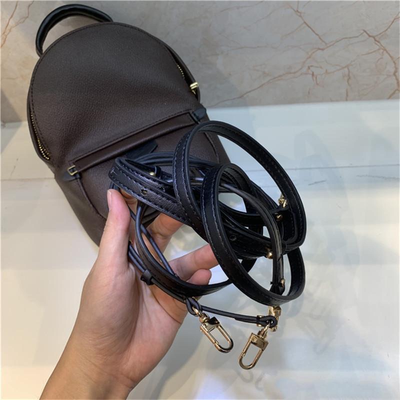 Designer mochila ombro mensageiro palm moles mini para bolsa bolsa mochila mochila mulheres mulheres mulheres imprimindo couro lrfmj