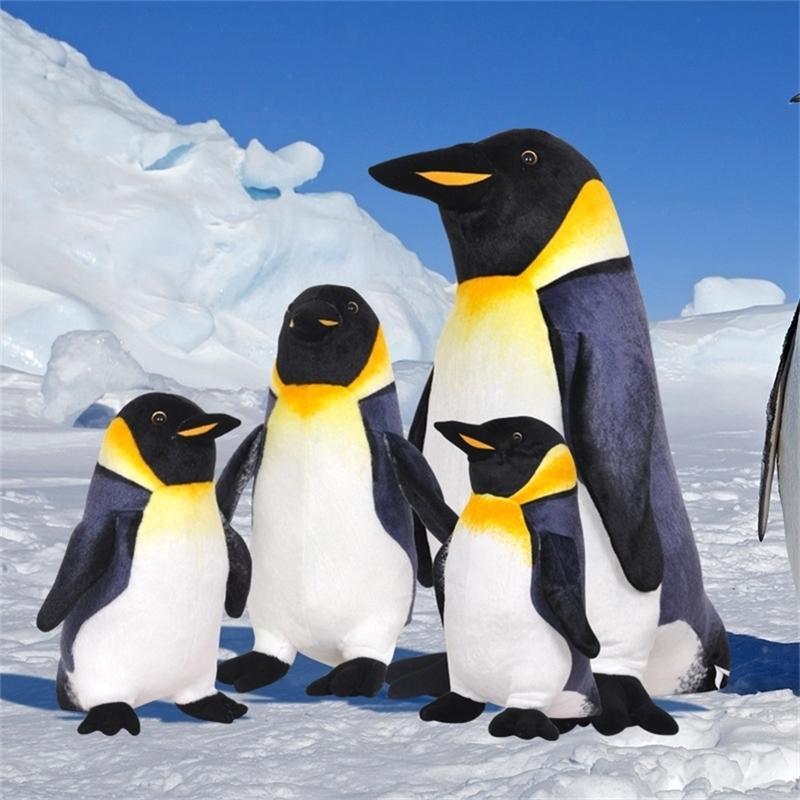 Simulation Pinguin Plüsch Spielzeug Echt Leben Tier Pinguin Gefüllte Puppen Nette Weiche Kinder Spielzeug Hohe Qualität Geburtstagsgeschenk für Kinder 201214