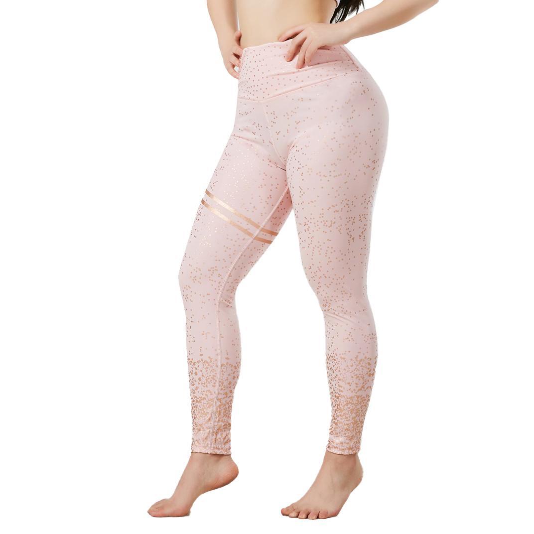 Pantalon de yoga Pantalons pour dames Pull lâche Best Couleur Solide Qualité de couleur Pantalon de yoga Strimmer Leggings respirants pour les femmes en cours d'exécution des pantalons sportifs