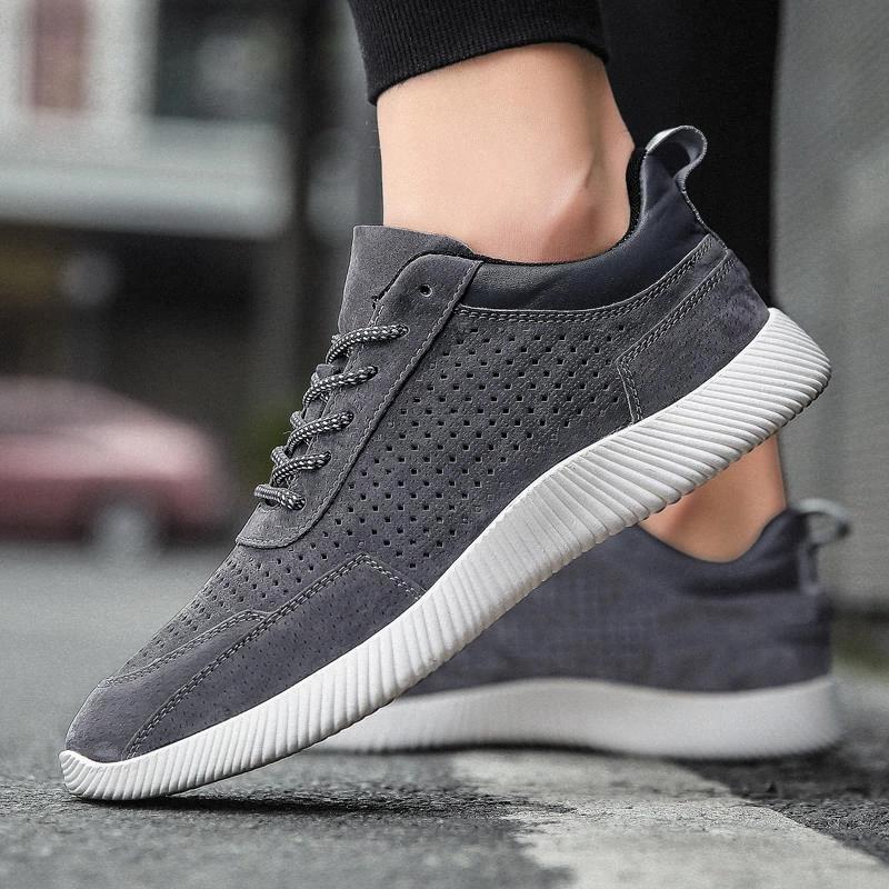 Sapatos lisos homens moda sneaker vintage camurça couro mocassins sapatos de Oxford para homens lacer up casual zapatos de mujer j3 # gy2i