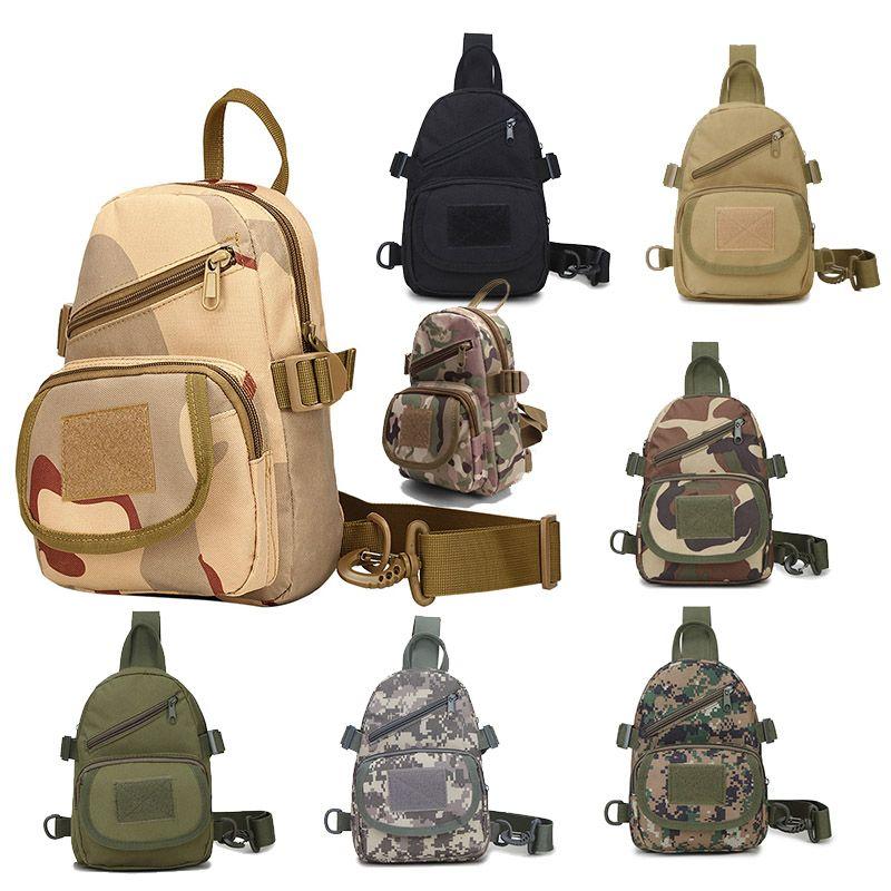 Odoor Sports Pacote Tático Impermeável / Mochila / Knapsack / Assalto Combate Camuflagem Versipack Tactical Molle Bag P11-102