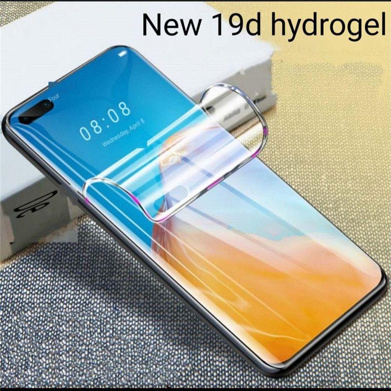 Изогнутый HD полноэкранного Overlay гидрогель защитной пленки P40Pro P40Plus для Huawei экрана защитите