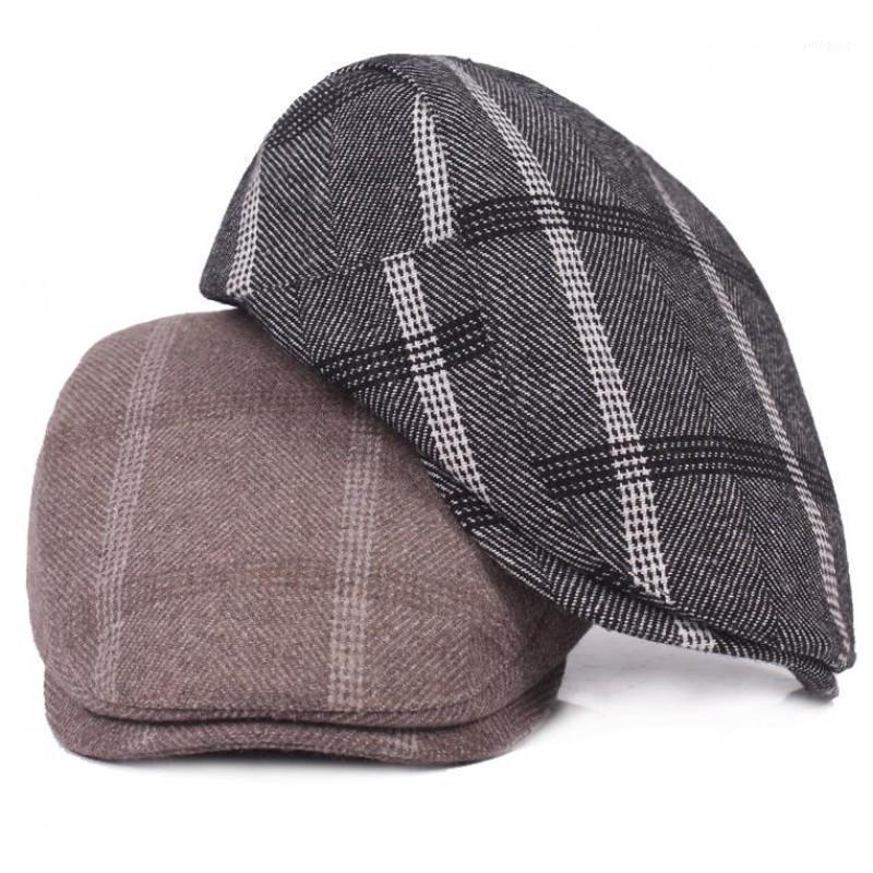 2020 Spring réglable de haute qualité Automne Nouveau Bérets Hommes Femmes Duckbill Ivy Cap Golf plat Cabbie Newsboy Beret chapeau AD08411