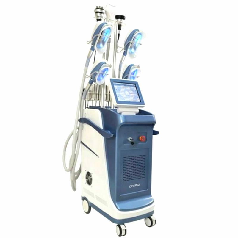 360 ° Cryolipolysis Lipolaser 40K Cavitation Rf machine cryothérapie 3 Cryo Poignées 2 Poignées Cryo Can Work At The Same Time